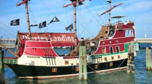 Texans Can Sail On A Pirate Ship Through The Laguna Madre In Port Isabel This Summer