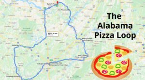 Sample Delicious Slices Across Alabama On This Tasty Pizza Loop That Will Take You To 9 Different Pizza Shops