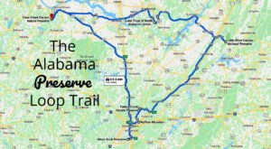 Follow This Preserve Loop Trail To Experience Some Of Alabama's Most Beautiful Scenery
