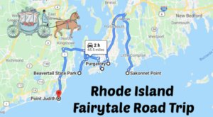 The Fairytale Road Trip That'll Lead You To Some Of Rhode Island's Most Magical Places
