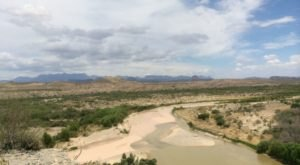 Follow A Sandy Path To The Waterfront When You Visit Santa Elena Canyon In Texas
