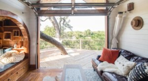 Spend The Night In A Whimsical Treetop Cabin At HoneyTree Farm In Texas