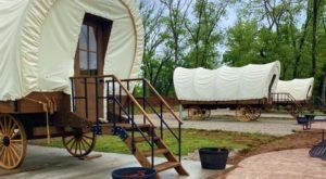 There's A New Covered Wagon Campground In Kentucky And It's A Unique Overnight Adventure
