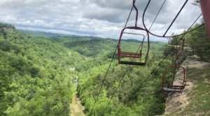 The Scenic Skylift In Kentucky That Takes You To One Of Our State's Natural Wonders