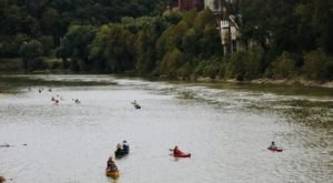 Paddle Around Historic Frankfort On A Fun-Filled Adventure With Canoe Kentucky