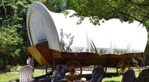 There's A Fun-Filled Covered Wagon Campground In New Jersey And It's A Unique Overnight Adventure