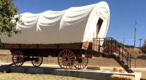 There's A Covered Wagon Campground In Texas And It's A Unique Overnight Adventure