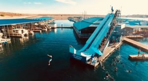 H2-WHOA Lake Pleasant Is A Floating Waterpark In Arizona That's Fun For The Whole Family