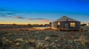There's Nothing Like An Overnight Stay At The Mahal Yurt In Arizona