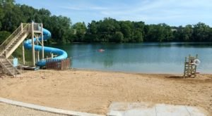 With A Waterslide And A Beach, You Can Enjoy The Best Of Both Worlds At This Wisconsin Park