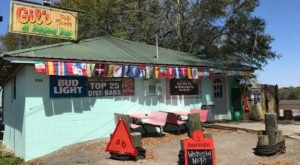 Let All Your Cares Drift Away With A Visit To Gil's Fish Camp And Bayou Bar, One Of Mississippi's Best Dive Bars