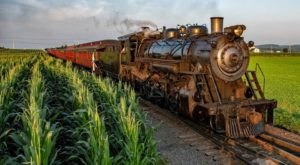 Go For A Socially Distant Ride Through Pennsylvania's Lancaster County With Strasburg Railroad