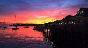 Pull Up A Chair And Watch A Picturesque Harbor Sunset While You Dine At Breakwater In Connecticut