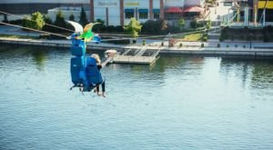 Soar Over Lake Taneycomo In Missouri While Seated On A One-Of-A-Kind Zipline