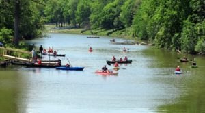 You Can Hike, Fish, Kayak And More At Side Cut Metro Park In Ohio