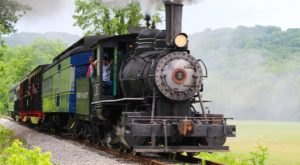 Go For A Socially Distant Ride Through Ohio's Hocking Valley With Hocking Valley Scenic Railway