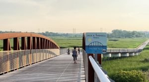 This Easy 7 Mile Trail Network In Delaware Features A Boardwalk, Bridge, Nature Center, And More