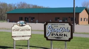 Enjoy A Day Out In A North Dakota Summer Paradise At Stump Lake Park