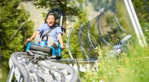 Take A Mountain Coaster Ride 7,800 Feet Above The Stunning Jackson Hole Valley In Wyoming