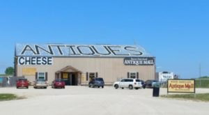 Absolutely Gigantic, You Could Easily Spend All Day Shopping At Rustic Dairyland Antique Mall In Wisconsin