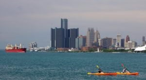 For The Most Breathtaking Views Of Detroit, Head Over To The Belle Isle Loop