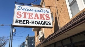 Pennsylvanians Will Fall Head Over Heels For The Iconic Philly Cheesesteak At Dalessandro's Steaks And Hoagies