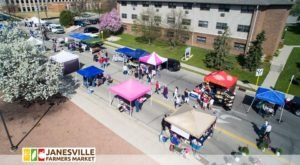 Help Keep Farmers Markets Open And Fill Up On Produce By Visiting The Janesville Farmers Market In Wisconsin