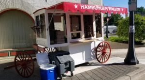 Sink Your Teeth Into Juicy Goodness At The Iconic Burger Stand In Ohio, Hamburger Wagon