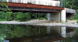Explore A Covered Bridge On The Salmon River Trail, An Easy Hike In Connecticut