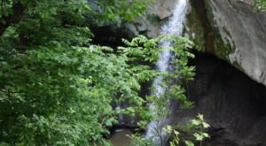 See The Tallest Waterfall In Indiana Near Williamsport