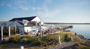 Enjoy The Scenic Views Of Fort Pond Bay From Duryea's Lobster Deck In New York