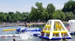Brownstone Park Is A Floating Waterpark In Connecticut That's Fun For The Whole Family