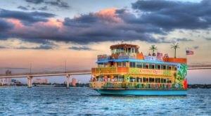 Enjoy A Tropical Sunset Cruise Aboard The Calypso Queen In Florida