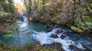 Spend A Summer Afternoon At Cavitt Creek Falls Recreation Area In Oregon