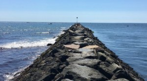Follow The Trail On This Rocky Coastal Jetty To Magnificent New Hampshire Ocean Views