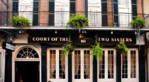 Experience Over 250 Years Of History When You Visit The Old-School Court Of Two Sisters In New Orleans