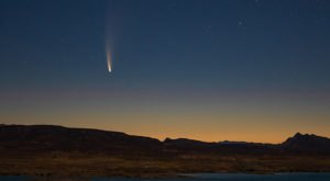 Catch The Bright, Newly-Discovered Neowise Comet Streaking In The Sky Above Northern California This Week