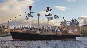 Washingtonians Can Sail On A Pirate Ship Through The Lake Washington Ship Canal This Summer