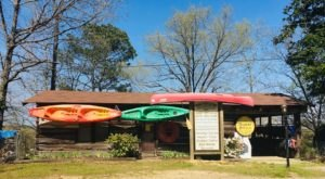 Book A Cabin, Rent A Kayak, And Float The River At The All-Inclusive Caddo River Camping & Canoe Rental
