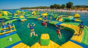 Splash Island Is A Floating Waterpark In Georgia That's Fun For The Whole Family