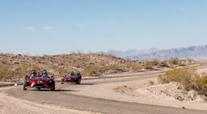 You Can Hit The Desert In A 3-Wheeled Roadster With Adrenaline Rush Slingshot In Nevada