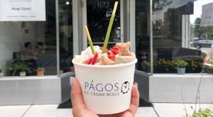 Rolled Ice Cream Is A Spectacular Sweet Treat You Need To Try At Págos Ice Cream In Michigan