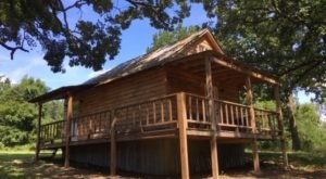 Play On The Trails And Rest In The Cabins At Hanson's Camp In Arkansas