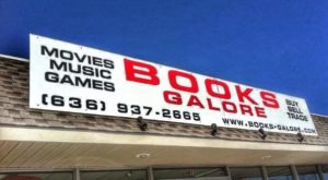 Get Lost Among Rows And Rows Of Shelves At Books Galore In Missouri