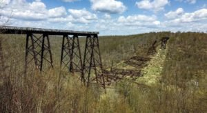 Follow The Challenging Kinzua Creek Trail That Leads To A Pennsylvania Landmark