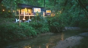 Stay In This Cozy Little Creekside Cabin In Georgia For Less Than $150 Per Night
