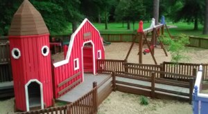 With A Creek, Bridge Trail, And Adorable Playground, Holmes Water Park In Mississippi Has Something For Everyone