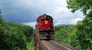 Go For A Socially Distant Ride Through Arkansas' Ozark Boston Mountains With A&M Railroad