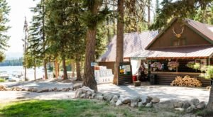 Right On The Shores Of Warm Lake, North Shore Lodge In Idaho Is The Quintessential Summer Spot