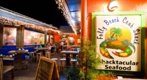 Located At The Edge Of America In South Carolina, Folly Beach Crab Shack Is A Must-Visit